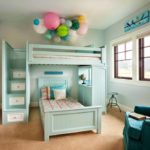 Bright Kids Full Loft Bed