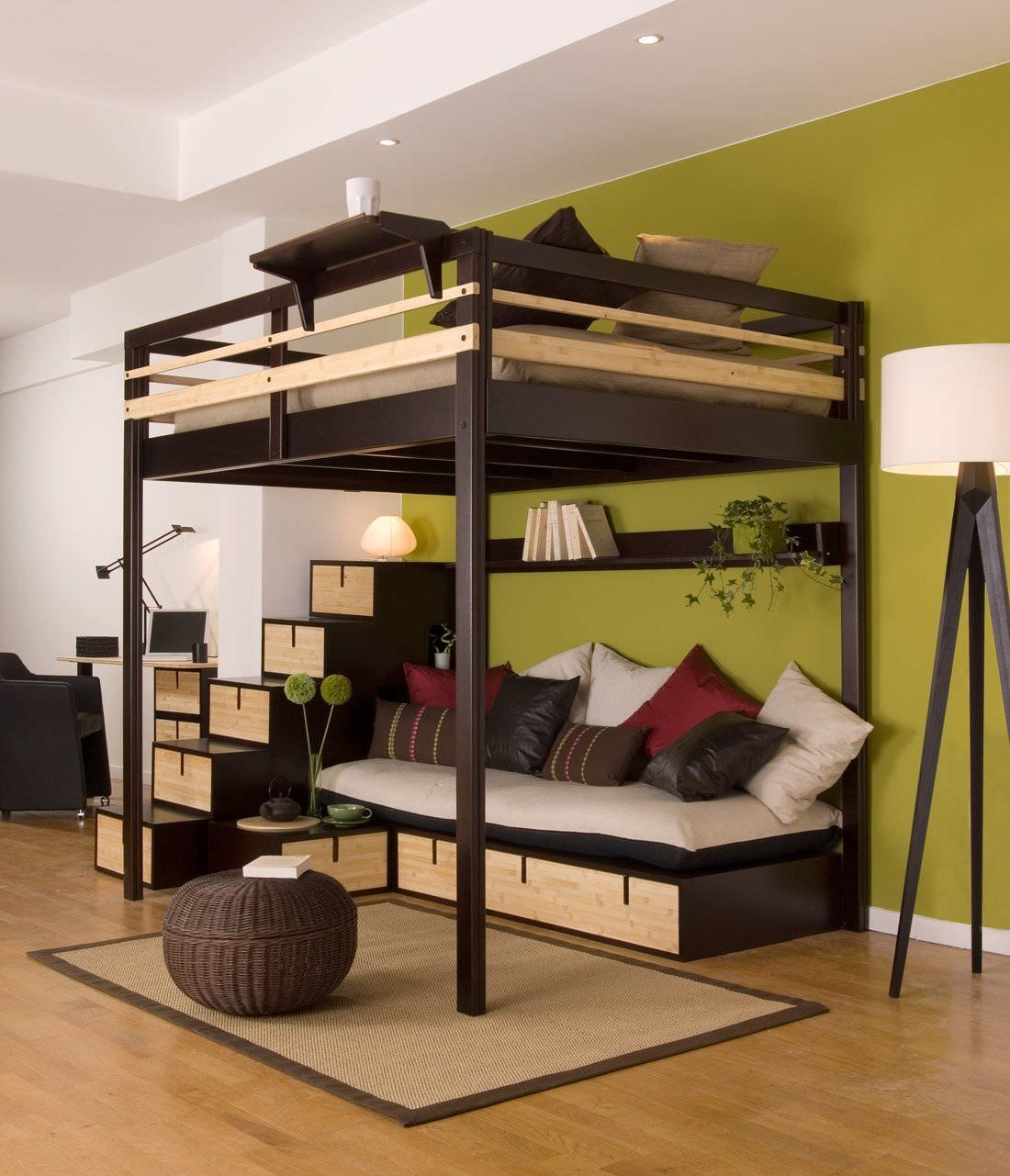 Great Full Size Bed Loft
