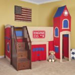 Kids Loft Bed With Stairs