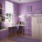 Lilac Girls Loft Bed