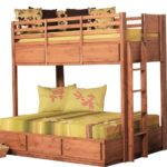 Beautiful Twin Wood Bunk Beds