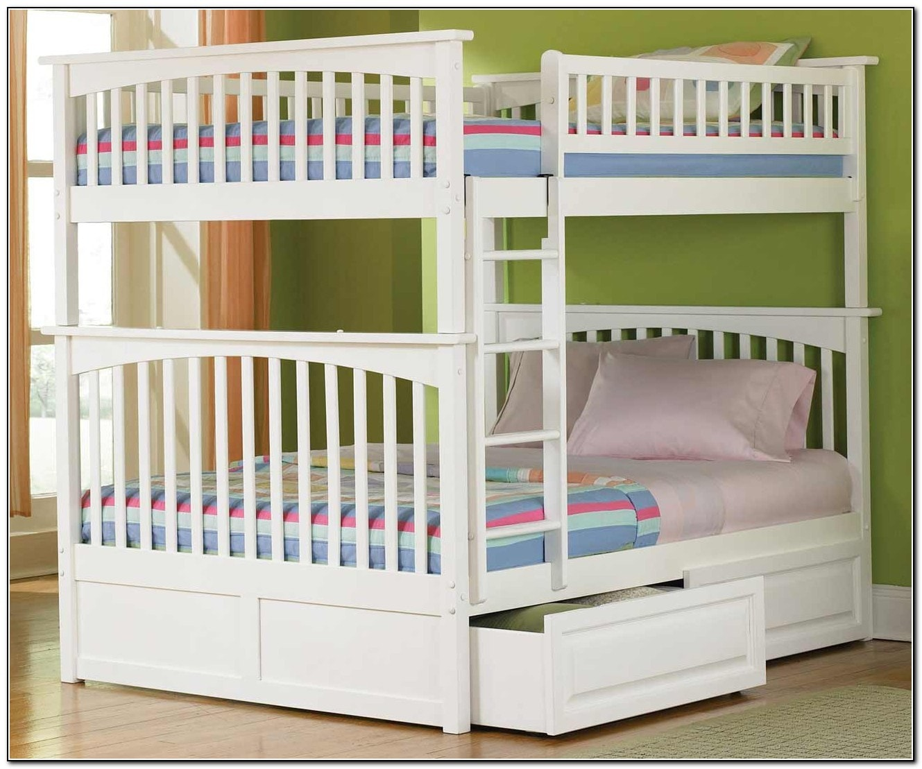 Refined Full Size Bunk Beds