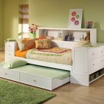 Good White Trundle Bed With Drawers