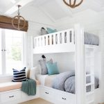 Wood White Twin Bunk Beds