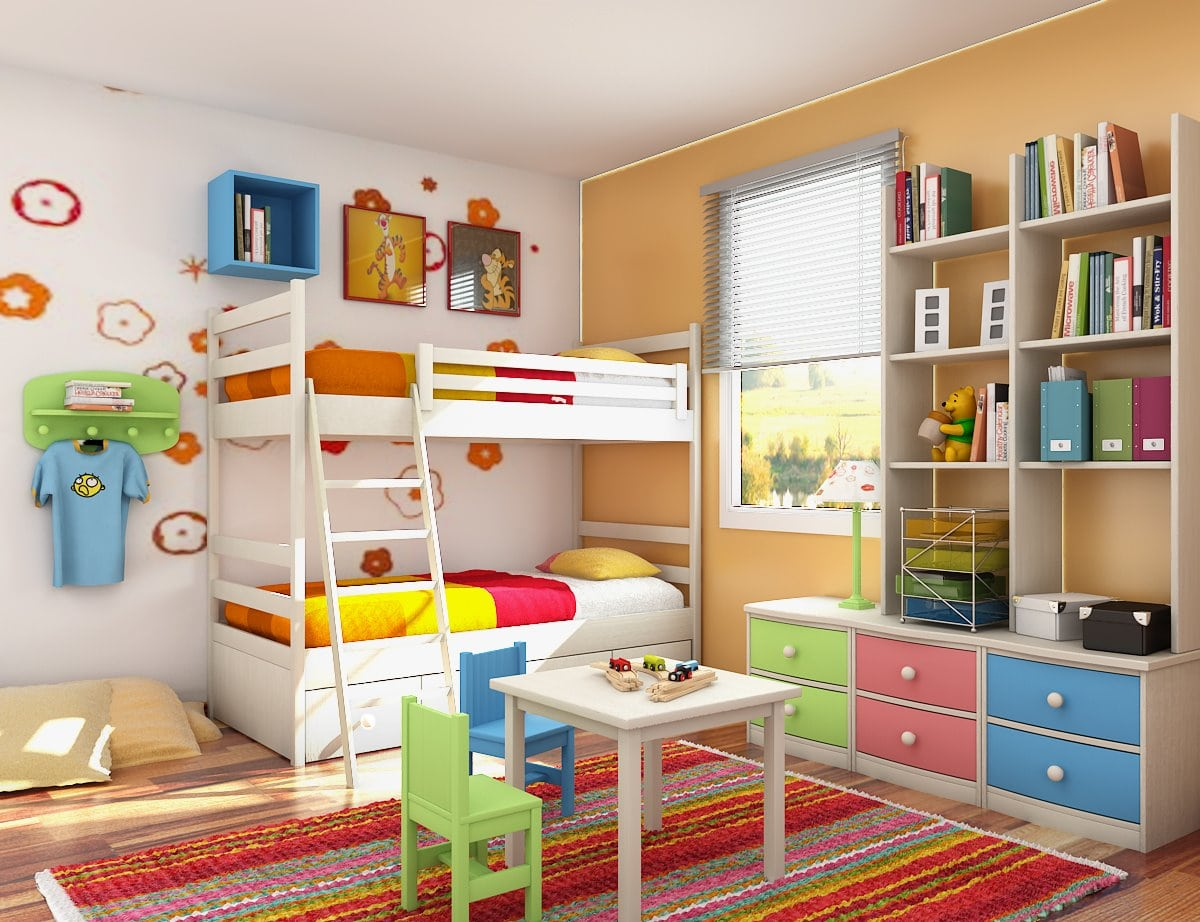 Comfortable Toddler Bunk Beds