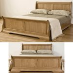 Excellent White Wooden King Size Bed Frame